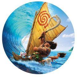 Dekoracyjny opłatek tortowy Vaiana Skarb Oceanu - 20 cm