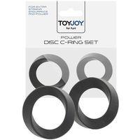 Power Disc C-Ring Set Black | 100% DYSKRECJI | BEZPIECZNE ZAKUPY