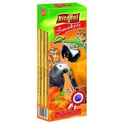 Vitapol Smakers pomarańczowy kolby maxi dla dużych papug 2szt/450g