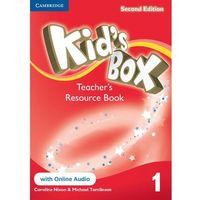 Kid's Box 1 Second Edition. Teacher's Resource Book + Online Audio, oprawa miękka