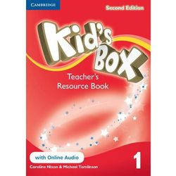 Kid's Box 1 Second Edition. Teacher's Resource Book + Online Audio, książka w oprawie miękkej