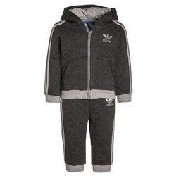 adidas Originals SET Spodnie treningowe dark grey heather/medium grey heather - sprawdź w wybranym sklepie