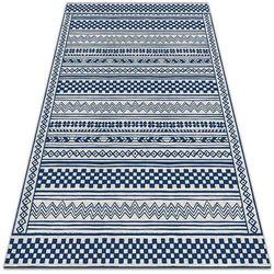 Nowoczesny dywan tarasowy Nowoczesny dywan tarasowy Geometryczny szlaczek
