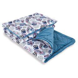 kocyk z poduszką 75x100cm do wózka i łóżeczka velvet alas | u nas skompletujesz całą wyprawkę | szybka wysyłka marki Ceba baby