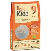 Makaron konjac kształt ryżu bezglutenowy 385g - better than food eko marki Better than foods