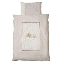Easy baby  komplet pościeli 100 x 135 cm sleeping bear kolor naturalny (410-83), kategoria: komplety pościeli dla dzieci