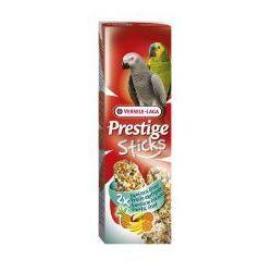 VERSELE-LAGA Prestige Sticks Parrots Exotic Fruit 140 g - Kolby Z Owocami Egzotycznymi Dla Dużych Papug- RÓB ZAKUPY I ZBIERAJ PUNKTY PAYBACK - DARMOWA WYSYŁKA OD 99 ZŁ, towar z kategorii: Pokarmy dla ptaków