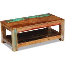 Vidaxl stolik kawowy drewna odzyskanego 90x45x35 cm
