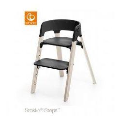Stokke Krzesełko ® steps™ black/ whitewash