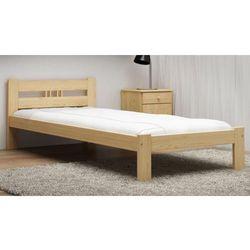 Łóżko ekologiczne drewniane Emilia 90x200 nielakierowane