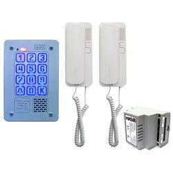 Zestaw 2-rodzinny cyfrowy panel domofonowy kec-4 pt mini gd36 marki Radbit