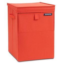 Modułowy kosz na pranie Brabantia czerwony 35l