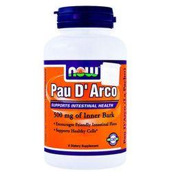 Now Foods Pau D'Arco (LaPacho) 500mg 100 kaps., produkt z kategorii- Leki przeciwalergiczne