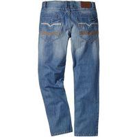 Bonprix Dżinsy regular fit straight  średni niebieski