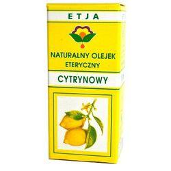 ETJA Olejek cytrynowy 10ml z kategorii Olejki eteryczne