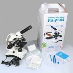 Mikroskop szkolny biolight 300  wyprodukowany przez Delta optical