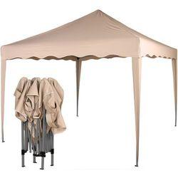 Instent ® Ekspresowy beżowy pawilon namiot ogrodowy 3x3m - beżowy (30030314)
