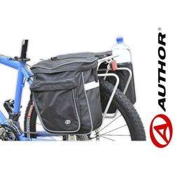 15-000016 sakwy na bagażnik  cargo 20l czarne z pokrowcem od producenta Author