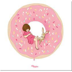 słodki obraz dla słodkiej dziewczynki