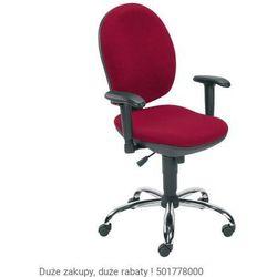 Krzesło obrotowe Mind R2E steel02 chrome z mechanizmem Active-1 Nowy Styl