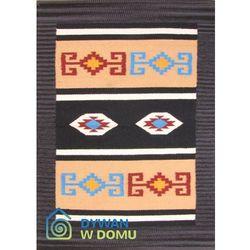 Dywan Łazienkowy Azteki czarny 060x090 prostokąt