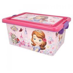 Princess jej wysokość zosia - pojemnik / organizer na zabawki 7 l (8412497044245)