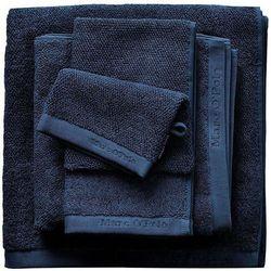 Gruby ręcznik łazienkowy granatowy, elegancki ręcznik bawełniany, Marc O'Polo, 30 x 50 cm, 50 x 100 cm