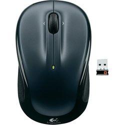 Mysz bezprzewodowa, Logitech 910-002142, Optyczny, 1000 dpi, Radiowa, czarny (5099206026094)
