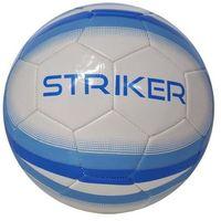 Axer sport Piłka nożna  striker biało-niebieski (rozmiar 5) (5901780920395)