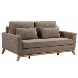 Rozkładana 3-osobowa sofa BOSKO - Kolor taupe