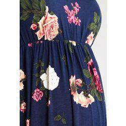 MAMALICIOUS MLFLORANA Sukienka z dżerseju navy blazer - produkt z kategorii- Sukienki ciążowe