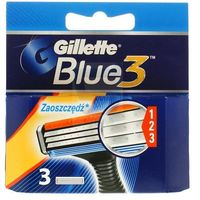 Gillette  blue3 wkład do maszynki do golenia 3 szt.