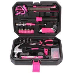 Sixtol Zestaw narzędzi Home Pink, 66 szt., 693372