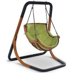 trapezoid wiszące krzesło bujane, zielone marki Igotherm