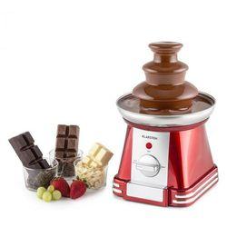 Klarstein chocoloco czekoladowa fontanna 32 w 350 kuwertura czerwona (4260457489452)