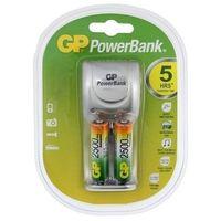 Gp battery Ładowarka pb25 + 2szt r6/2500mah gp