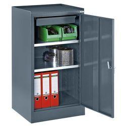 Quipo Szafa na narzędzia,z 1 szufladą, 2 półki, wys. x szer. x gł. 1000 x 500 x 500 mm