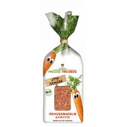 Makaron warzywny z marchwią 300g eko  dla dzieci wyprodukowany przez Erdbar