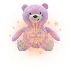 Chicco, First Dreams, miś z projektorem, różowy - produkt z kategorii- maskotki interaktywne