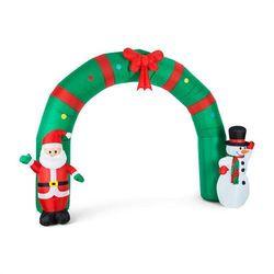 merry welcome nadmuchiwana ozdoba świąteczna brama 250cm led marki Oneconcept