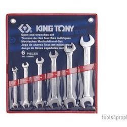 ZESTAW KLUCZY PŁASKICH 6cz. 8 - 23mm King Tony 1106MR, 1106MR