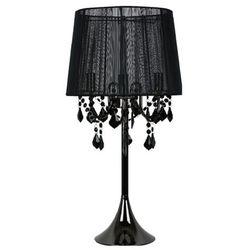 Lampa stołowa MONA czarna E14 LIGHT PRESTIGE, lampy_LP-5005/1T czarna