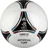 Piłka nożna Adidas Tango 12 glider 5 biało-czarna - Biało - czarny (4051932357539)