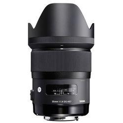 Obiektyw SIGMA A 35/1.4 DG HSM Nikon + DARMOWY TRANSPORT! z kategorii obiektywy fotograficzne