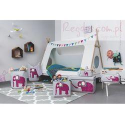 Lassig  skrzynia zamykana na zabawki wildlife słoń, kategoria: pojemniki na zabawki