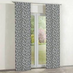 zasłony panelowe 2 szt., brązowo-beżowe wzory, 60 × 260 cm, wyprzedaż do -50% marki Dekoria