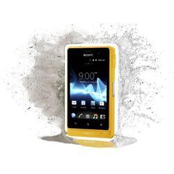 Sony  xperia go st27i 8gb żółty - żółty \ 2 lata na terenie całego kraju + polskie menu + bez sim locka