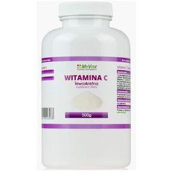 Witamina C lewoskrętna 500 g (Myvita) - produkt farmaceutyczny
