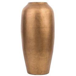 Wazon dekoracyjny złoty matowy LORCA (4260624112602)