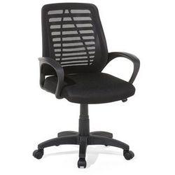 Krzesło biurowe czarne - meble biurowe - fotel komputerowy - MAYOR
